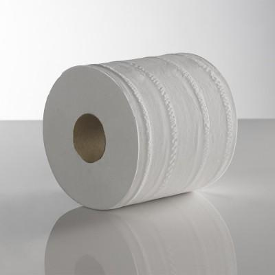 White 2ply 60M Plain Centrefeed Roll